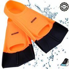 SCOOB Swimming Fins Training Short Blade swim Flippers Diving Snorkeling Pool