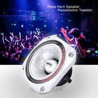 4Pcs Tweeter 30KHZ Piezoelectric horn Speaker Driver Loudspeaker Treble DJ
