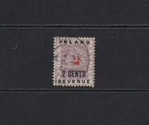 British Guiana  1889 12c Violet Surcharged 2c-on 2c Used.