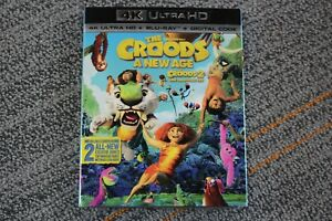 The Croods A New Age (4k Ultra HD + Blu-Ray + Digital Code, 2021)