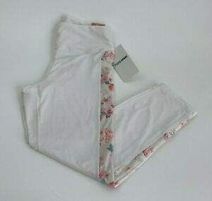 Victoria's Secret PINK Cozy High Waist 7/8 Tight Fleece Lined Legging  White  L