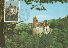 Dracula's Castle Bran Romania Maximum Card