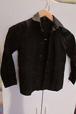 boy's clothing: 2 dress shirts white/black 1 pr pants 1 clip on tie sz 5  (D-F)