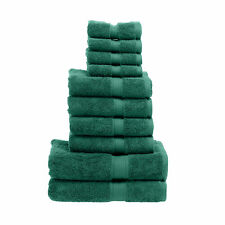 Egyptian Cotton Solid 10-Piece Towel Set