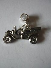 Vintage Car W29 Charm with 5mm Hole fit Pendant Charm Bracelet