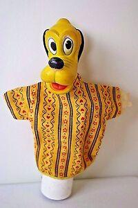 Vintage 50's Walt Disney Productions Pluto Hand Puppet WDP