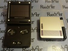 NES Classic Edition Black AGS-001 MINT GameBoy Advance SP Custom Nintendo System