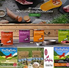 FORTHGLADE NATURAL MENU DOG FOOD 1 FULL MONTHS 30 x 395 gram trays (Grain Free)
