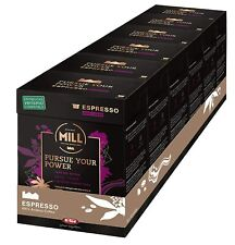 New listing Mr&Mrs Mill Coffee Expresso Dark Roast Verismo* Compatible Capsules K-Fee 72 Ct
