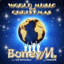 BONEY M World Music For Christmas CD BRAND NEW Feat. Liz Mitchell and Friends