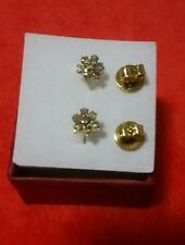 GoldNMore: Used/Pre-Owned14K Gold Rositas Earrings
