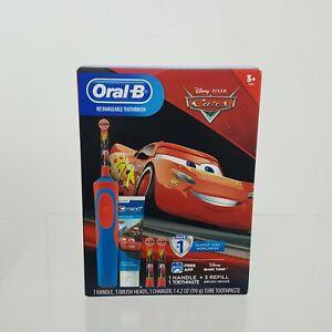 Disney Pixar Cars Oral-B Kids Electric Toothbrush Bundle Pack