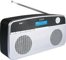 SCHWAIGER -DAB200 511- Digital Radio DAB/DAB+, tragbar, mit UKW und DAB Empfang