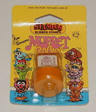1984 *Vintage* STAMPOS Rubber Stamps Muppets Babies: Baby Fozzie R8051