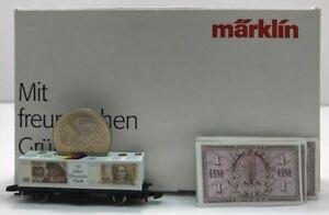 Marklin Z Scale 1998 International Toy Fair Car EX/Box