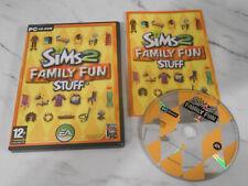 Die Sims 2: Family Fun Stuff (PC CD) - Erweiterungspaket ** Gleichen Tag Versand **