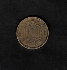 Spain 1953 One Peseta coin