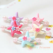 5x Bulk Baby/Kids/Toddler Girls Hair Clip - New Design and Style