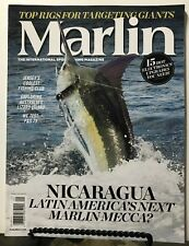 Marlin Nicaragua Jersey Fishing Club Electronics April/May 2015 Free Shipping Jb