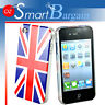 NEW UK Flag Design Hard  Cover Case For iPhone 4G 4GS + Screen Protector