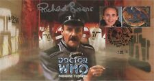 "Doctor Who ""Paradise Towers"" Collectable Stamp Cover - Signed RICHARD BRIERS"