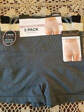 Large  UNDER WEAR? Shaping Shorts - Firms & Slims Tummy Area - NEW - 3 pack
