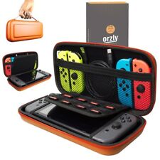 Nintendo Switch Hard Case Protective Cover Carry Bag By Orzly - Orange