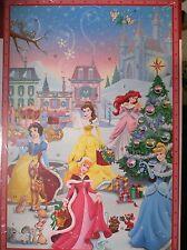 Princess~SnOw+ArieL+BeLle +~Countdown 2 Christmas~Advent Card~Nwt~Disney~HaLlmark