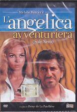 Dvd **L'ANGELICA AVVENTURIERA ♦ SOLE NERO** con Michele Mercier nuovo 1966