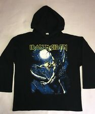 "IRON MAIDEN 1992 'Fear Of the Dark"" Rare Vintage Hooded Sweatshirt XL"
