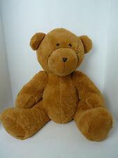 "Personal Creations Sitting Brown Teddy Bear Plush Stuffed Animal toy 18"""