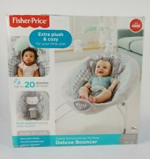Fisher-Price Sweet Surroundings Monkey Deluxe Bouncer Open Box FREE SHIP