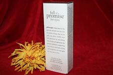 PHILOSOPHY FULL OF PROMISE FOR RESTORING EYES DUO LIFT FIRM .5 OZ TOTAL IN BOX