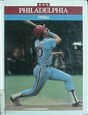 Philadelphia Phillies, 1987 Book (Mike Schmidt Cvr, Roberts/Carlton/Rose/McGr aw+