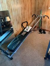 Total Gym SUPREME Home Gym Work Out Exercise W Extras
