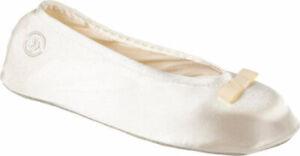 Women's  Isotoner Satin Ballerina