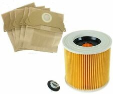 FILTER & BAGS for KARCHER WD2 SERIES Wet & Dry Vacuum Cleaner hoover