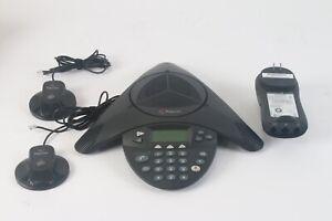 Polycom Soundstation 2 Numérique Conférence Téléphone W/2x : 2201-07155-605