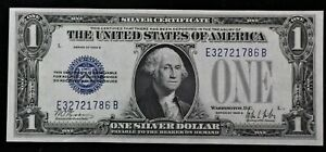 Series Of 1928 A United States Silver Certificate $1 Note Funny Back NOTE J70