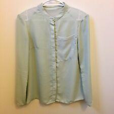 RACHEL Rachel Roy Chiffon mint green blouse - size S