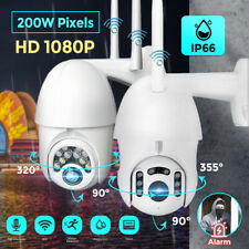 1080P HD LED WIFI IP CCTV Security Camera Wireless Outdoor HD Home PTZ IR Cam
