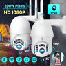 1080P HD LED WIFI IP CCTV Security Camera Wireless Outdoor HD Home PTZ IR Cam
