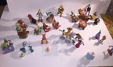Disney PVC Lot 1 25+ figures Snow White, Lion King, Cinderella, Robin Hood more!