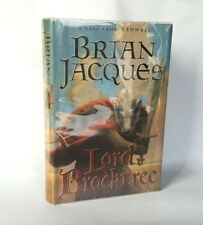 Lord Brocktree Tale from Redwall Jacques HB Book 1st First Edition Badger Epic