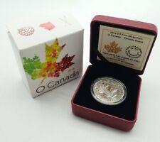 Canada 2014 $10 Canada Goose ½ Troy Oz Matte Proof Pure Silver Coin, O Canada