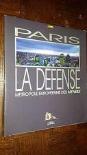 PARIS - LA DEFENSE - Métropole Européenne des Affaires - Cofer 1989