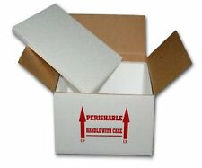 "Insulated Shipping Box  8"" x 8"" x 7""      With  1/2"" Foam     One Box"