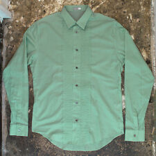 NEW Dior Homme Green Shirt GENUINE RRP: £255 - Size: 41
