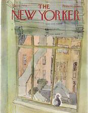 1974 New Yorker March 11  - Lonely Pigeon on the Lower Eastside