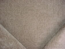 3+Y KRAVET 31967 BISOUS CIAO GENTLE GREY VELVETY CHENILLE UPHOLSTERY FABRIC